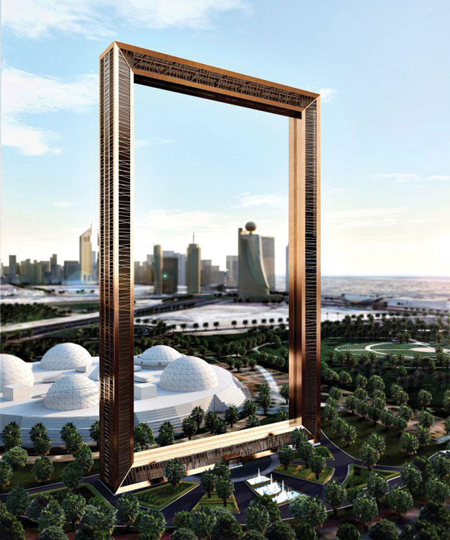 Dubai Frame - new tourist attractions