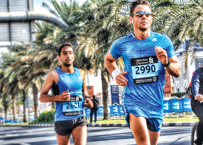 Dubai Marathon training tips - tapering