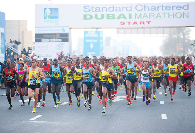 Dubai Marathon training tips - tapering