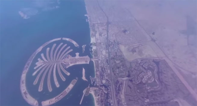 Dubai360.com shows the real view of Skydive Dubai