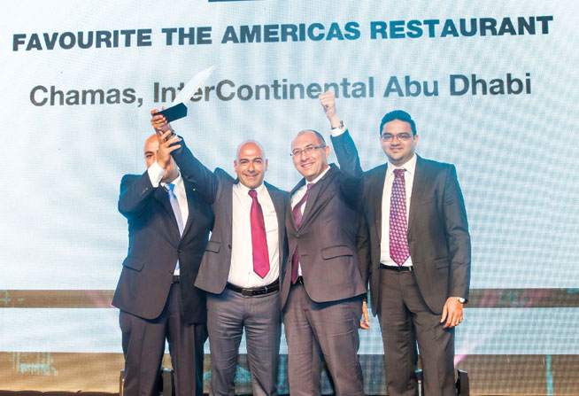 Favourite Americas restaurant in Abu Dhabi - Chamas, InterContinental