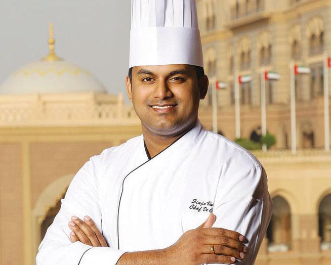 Favourite Chef in Abu Dhabi: Sinju Varghese, Chef de Cuisine, Sayad