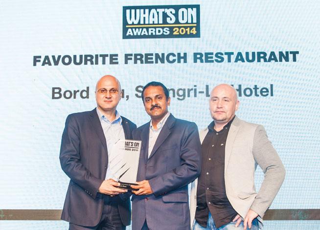 Favourite French restaurant in Abu Dhabi - Bord Eau, Shangri-La Hotel
