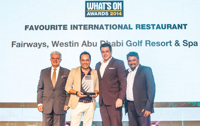 Favourite International restaurant in Abu Dhabi - Fairways, Westin Abu Dhabi Golf Resort & Spa