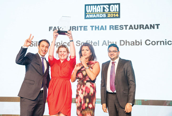 Favourite Thai restaurant in Abu Dhabi - Silk & Spice, Sofitel Abu Dhabi Corniche