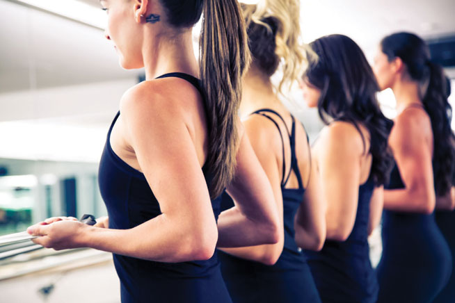 Barre classes in Dubai - Flybarre
