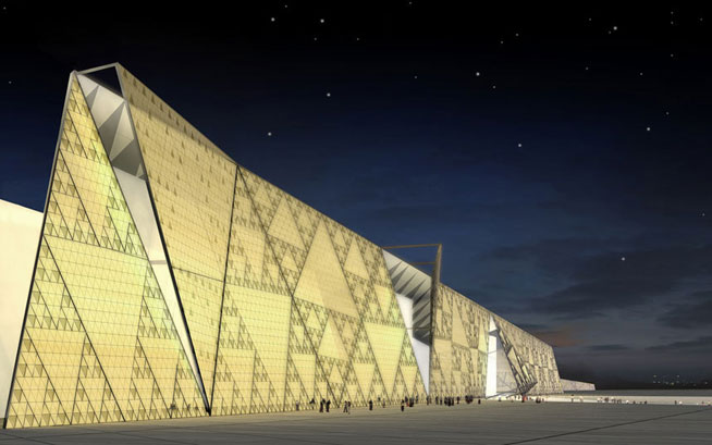 Grand Egyptian Museum - new tourist attractions (Picture: archimation / hparc.com)