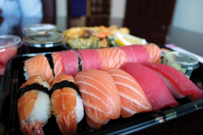 Japanese takeaway in Abu Dhabi