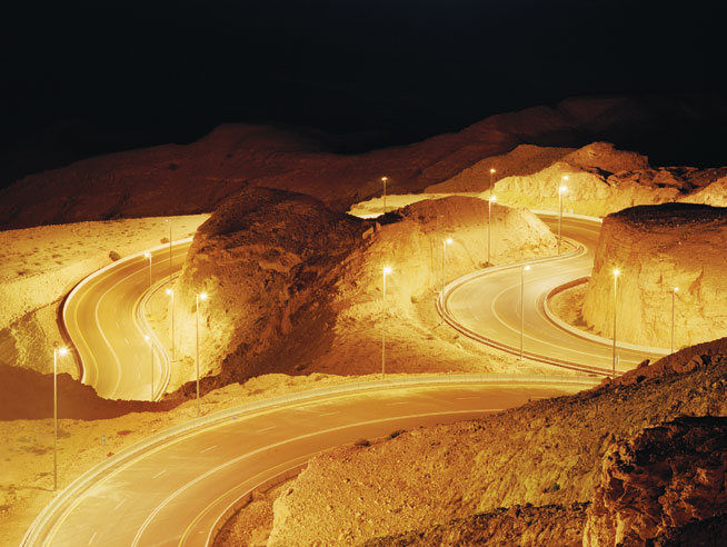 Jebel Hafeet - road trips in the UAE