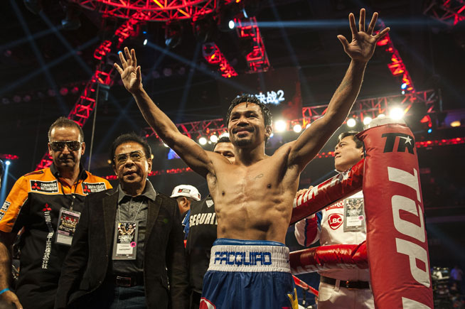 Manny Pacquiao could fight Amir Khan in Abu Dhabi