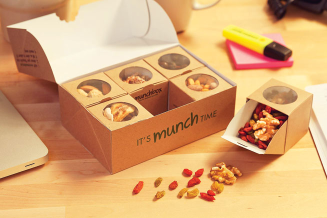 Munchbox delivery service in Dubai