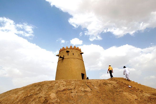 Murayjib Forts - road trips in the UAE