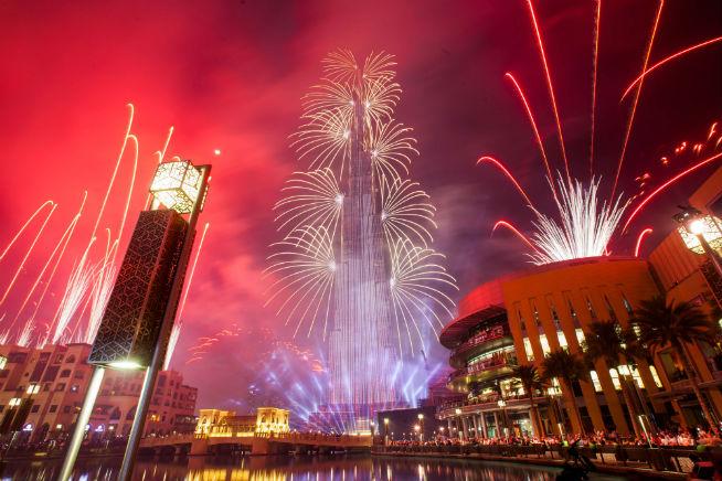 new year's day Image credit: Ajith Kumar - New Year fireworks