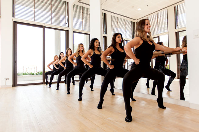 Barre classes in Dubai - Nyla Method