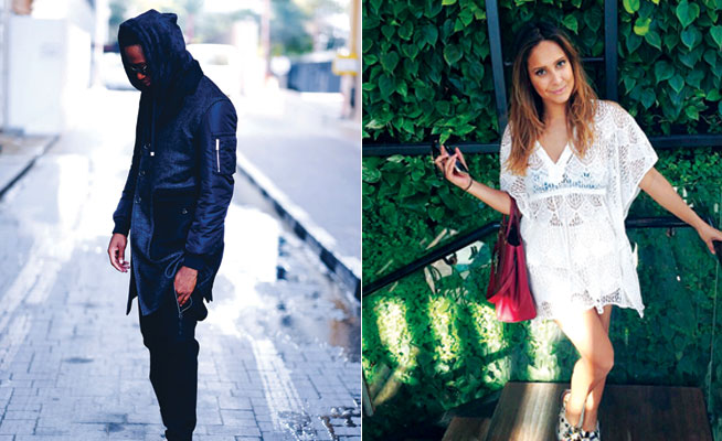 Fashion bloggers in Dubai - Mr Levier and Style Is Necessity