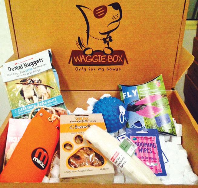 Waggie Box delivery service in Dubai