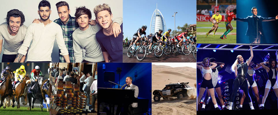 The big events in the UAE in 2015