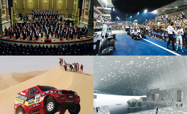 Abu Dhabi calendar of events