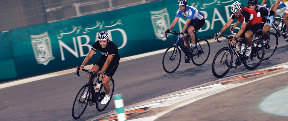 Cycling in Abu Dhabi