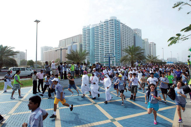 Running clubs in Abu Dhabi