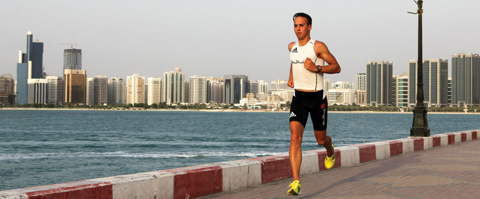 Running areas in Abu Dhabi