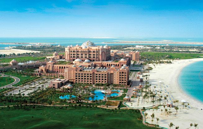Beach clubs in Abu Dhabi - Emirates Palace