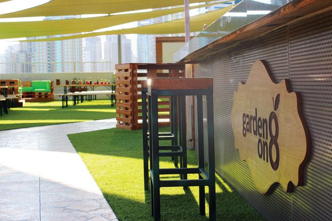 Garden On 8, Media One