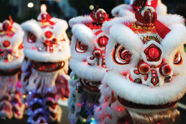 Chinese New Year in Abu Dhabi