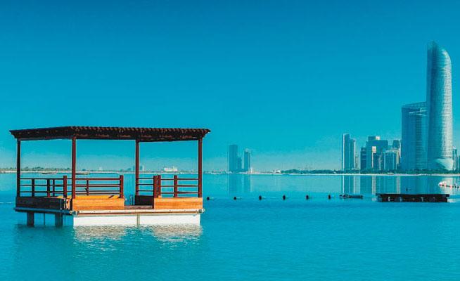 Hiltonia Beach club in Abu Dhabi