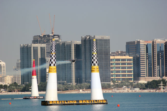 Red Bull Air Race in Abu Dhabi