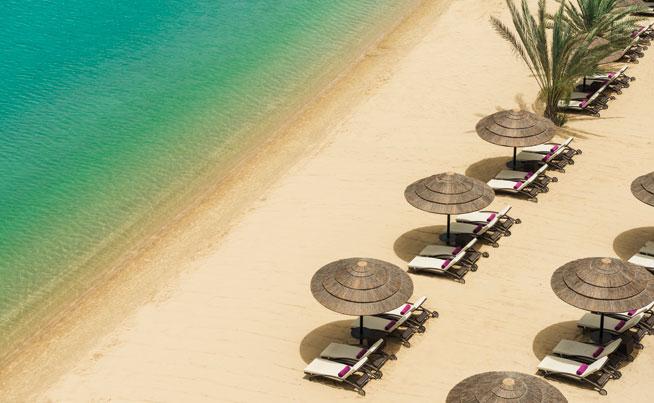 Beach clubs in Abu Dhabi - Le Meridien