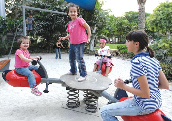 Omo Carnival in Zabeel Park