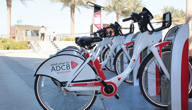 Bike sharing scheme in Abu Dhabi