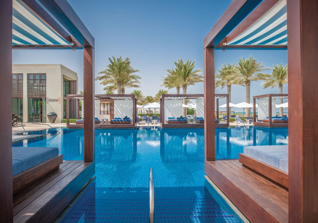 Beach clubs in Abu Dhabi - Saadiyat Beach Club