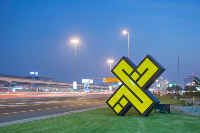 XDubai sculptures around Dubai