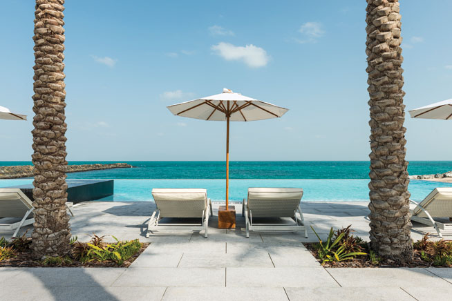 Beach clubs in Abu Dhabi - Zaya Nurai resort