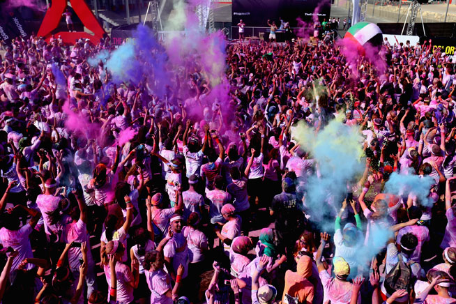The Color Run Abu Dhabi
