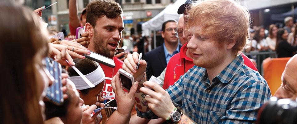Ed Sheeran in Dubai - preview