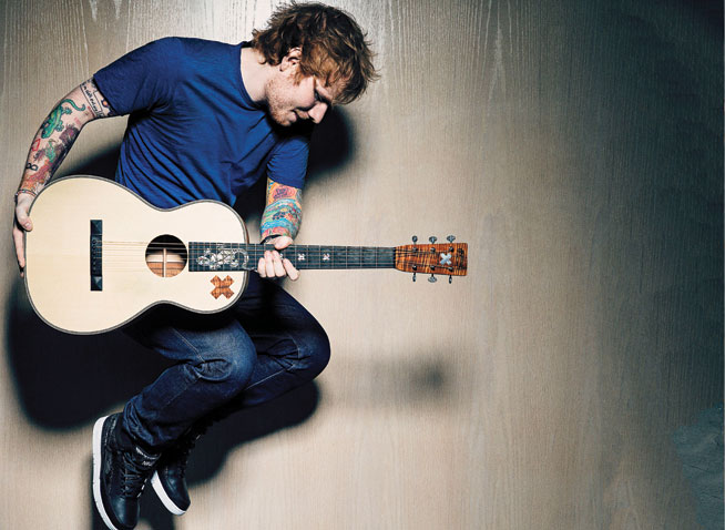 Ed Sheeran in Dubai - preview