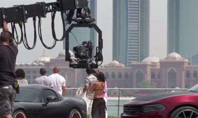 Furious 7 - behind-the-scenes in Abu Dhabi