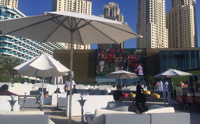La Playa Lounge outdoor cinema