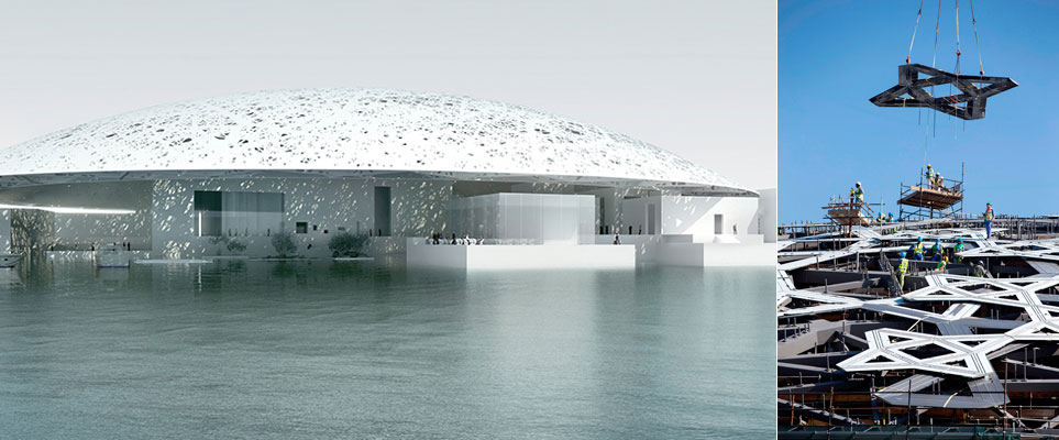 Louvre Abu Dhabi - roof update