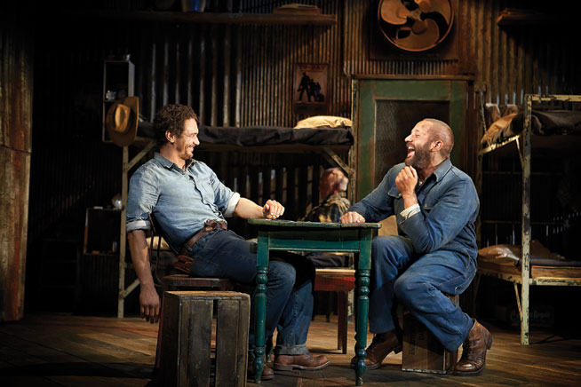 Of Mice And Men at Courtyard Playhouse