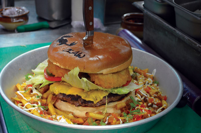 The Beast at Claw - best burgers in Dubai