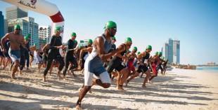 ITU World Series Triathlon in Abu Dhabi