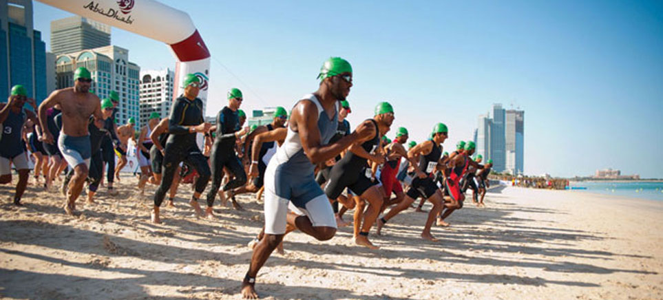 ITU World Series Triathlon in Abu Dhabi