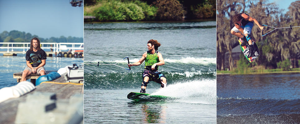 Wakeboarding champion Matt Crowhurst
