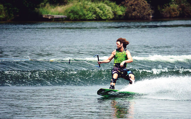 Wakeboarding with Matt Crowhurst