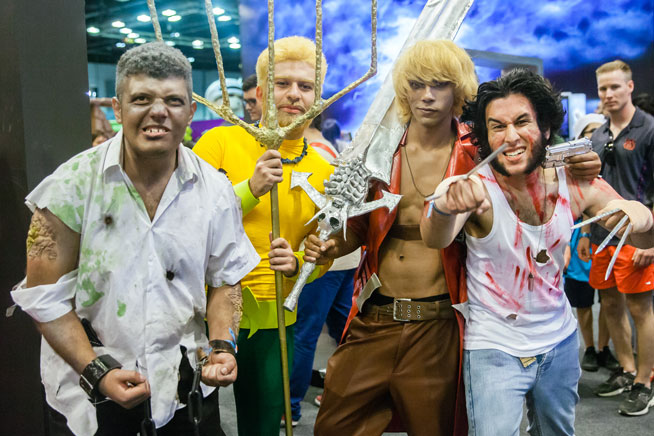 Middle East Film and Comic Con Dubai 2015 - best pictures (cosplay)