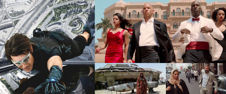 Movies filmed in the UAE